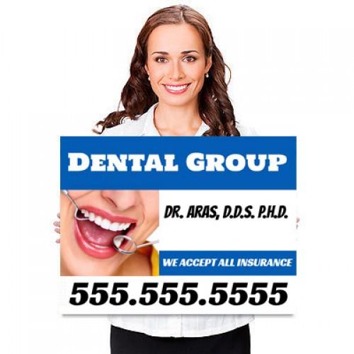 Dentist Yard Signs