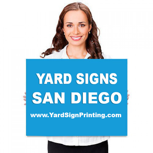 Yard Signs San Diego