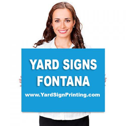 Yard Signs Fontana