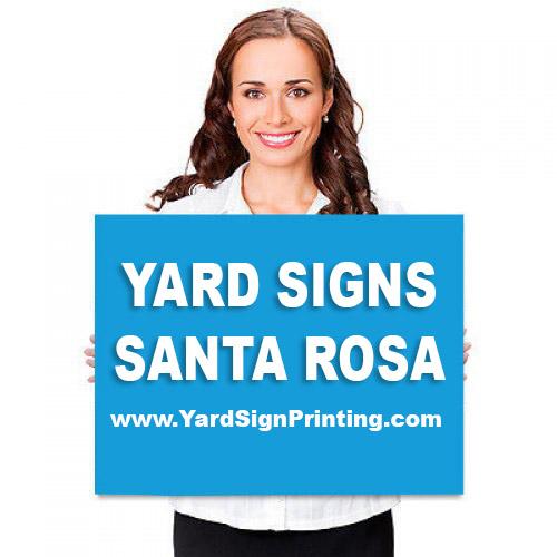 Yard Signs Santa Rosa