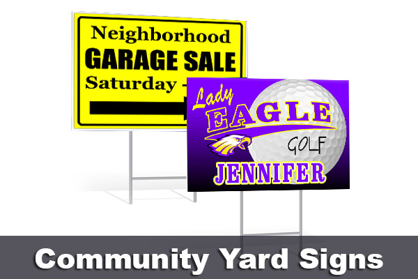 Community Yard Signs